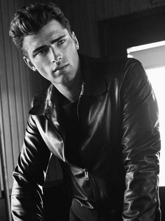 Sean O'Pry...look a bit like clint eastwood and james dean O.O