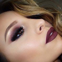 Belíssima make via @beautydicas ❣. 〰〰〰 Gorgeous make via @beautydicas ❣.