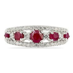 Get designer Ruby Ring with zircon online. Jewel Pin offers you with an exclusive collection of designer rings. Silver Ruby Ring, Ruby Rings, 925 Silver, Silver Jewelry, Sterling Silver, Peridot, Amethyst, Pink Topaz, Stone Rings