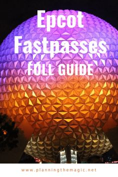 Make the most of your day at Epcot by reserving the right Fast Passes! I walk you through how to reserve your FastPasses, which ones, and provide a description of each right. Disney On A Budget, Disney Vacation Planning, Disney World Planning, Disney Tips, Disney Food, Disney World Resorts, Disney Vacations, Walt Disney World, Disney Parks