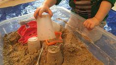 Homemade Moon Sand