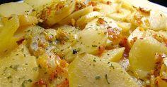 Ingredientes: 400 g. de agua 1 hoja de laurel sal 600 g. de papas cortadas en dados 4 dientes de ajos 150 g. aceite de o...