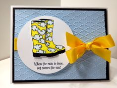 When the rain ends by Clipper2 - Cards and Paper Crafts at Splitcoaststampers