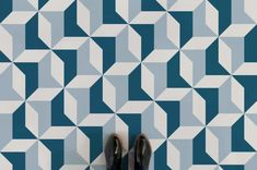Retro Geometric Pattern Flooring, leading Vinyl Flooring designed and manufactured by Atrafloor. Bring any design to life as Flooring. Retro Vinyl Flooring, Rubber Flooring, Eclectic Mirrors, Country Style Bathrooms, Chandelier Art, Black Interior Doors, Patterned Vinyl, Floor Patterns, Geometric Patterns