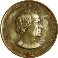 Indian peace metals | Andrew Johnson Indian Peace Medal