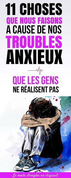 Au quotidien, les effets de l'anxiété sont souvent minimisés. Pour comprendre l'anxiété, il faut l'avoir vécue. Une partie du problème vient du fait qu'il y a encore beaucoup de mystères et d'idées erronées autour de l'anxiété. Bien que beaucoup de personnes pensent que les personnes souffrant d'anxiété sont paresseuses et irresponsables, souvent, rien ne pourrait être plus éloigné de la vérité. Si l'anxiété ponctuelle est normale... #santé #chasseursdastuces #anxiété #angoisse#stress