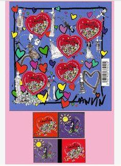 special stamp from Franck Sorbier for Valentine's day 2008