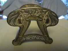 Art Nouveau Expandable Bookrack Judd by MoreThanMcCoy on Etsy, $95.00