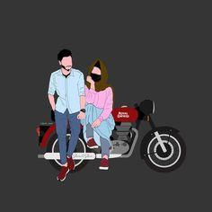 Baby Cartoon Drawing, Cute Girl Drawing, Cartoon Pics, Cute Cartoon Wallpapers, Love Cartoon Couple, Cute Love Cartoons, Cute Love Couple, Cute Muslim Couples, Cute Couples Kissing