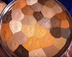 colored sands of the Sahara