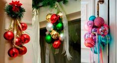 Ideas sencillas para que tu casa huela a Navidad - Dale Detalles Navidad Natural, Ornament Wreath, Ornaments, Christmas Wreaths, Holiday Decor, Ideas Sencillas, Home Decor, Christmas Greenery, Yule Decorations