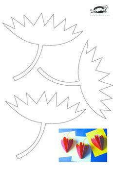 Strawberry Paper Craft | krokotak