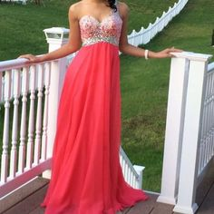 """Spotted while shopping on Poshmark: """"A-line, One shoulder Pink Bejeweled Prom Dress""""! #poshmark #fashion #shopping #style #Blush Prom by Alexia #Dresses & Skirts"""