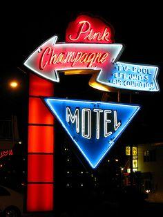 Pin Champagne Motel - Wildwood, NJ
