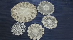 Assortment of Granny table pieces.