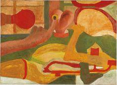 Untitled, 1966  oil on canvas  28 3/8 x 39 3/8 in. (72 x 100 cm.) Cildo Meireles