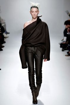 Haider Ackermann AW2013 RTW Collection Paris. Follow us on facebook: www.facebook.com/pages/Hey-Jo