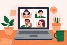Flat Design Illustration, Digital Illustration, Teacher Cartoon, Dibujos Cute, Illustrator Tutorials, Motion Design, Pattern Wallpaper, Doodle Art, Cute Art