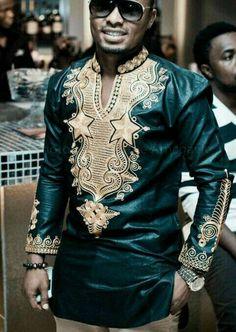 Afrikaanse kleding adshiki dashiki shirt Afrikaanse hemd