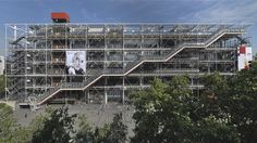 """The Pompidou captured the revolutionary spirit of 1968"" - Richard Rogers"