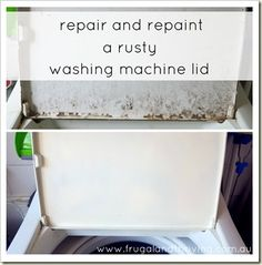 washing machine rust repair