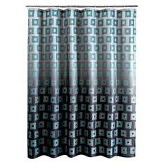 New shower curtains are a quick and easy way to transform your bathroom's look. Let this Ombre Boxed Shower Curtain be your redecoration inspiration. The bold geometric squares, warm rich colors and on-trend ombre shading will give your bathroom a fresh, contemporary feel. Reinforced hanger buttonholes and hardwearing polyester construction ensure long-lasting use. Combine this cloth shower curtain with coordinating rugs and towels for a flawless, finished look. Machine washable. Dimensio...
