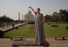 India Summer Study Abroad: Nicole Lawler at the Taj Mahal