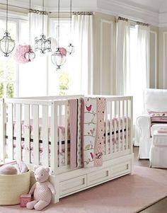 Penelope Pink Chocolate Nursery from Pottery Barn Kids Nursery Room, Girl Nursery, Girl Room, Kids Bedroom, Nursery Decor, Nursery Ideas, Room Ideas, Babies Nursery, Nursery Furniture