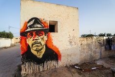 by Orticanoodles (Italy) - for the Djerbahood project - Djerba, Tunisia - 31.07.2014