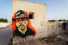 by Orticanoodles (Italy) - for the Djerbahood project - Djerba, Tunisia - 31.07.2014