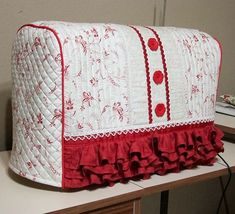 Bernina Machine Cover Free Tutorial