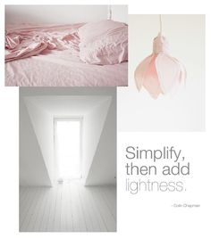 Simplify, then add lightness X ღɱɧღ