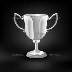 Trophy Cup Vector.