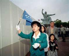 Martin Parr JAPAN. Nagasaki Peace Memorial 1993.
