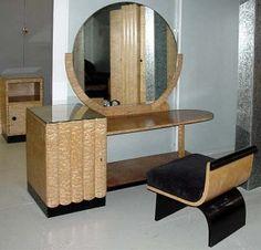 Art Deco Hille dressing table