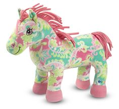 Melissa & Doug Beeposh Ashley Stuffed Horse, about $19 from www.thebigzoo.com