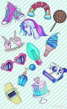 Design, Cake decorating supply, Pattern, Illustration, Line art Cute Wallpapers, Wallpaper Backgrounds, Iphone Wallpapers, Plastic Fou, Tumblr Stickers, Cake Decorating Supplies, Gif Animé, Designer Wallpaper, Pattern Wallpaper