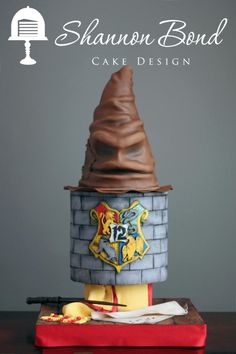 Harry Potter birthday cake - Cake by Shannon Bond Cake Design