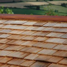 Cedar shingles are durable and lightweight and can be used for both the pitched roofs and vertical walls of domestic and commercial properties. Cedar Cladding, Cedar Shingles, Garden Studio, Wood, Cedar Shake Shingles, Cedar Shakes, Woodwind Instrument, Timber Wood, Wood Planks