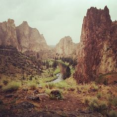 Smith Rocks, Oregon.