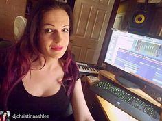 @Regrann_App from @djchristinaashlee  -  Working on new stuff 🔊🎶💜 . #trancefamily #trancegirl #femaledj #djane #producer #music #edm #plur #rave #trance #artist #pretty #me #positive #vibes #goals #awesome #pic #selfie #smile #love #motivation #passion - #regrann