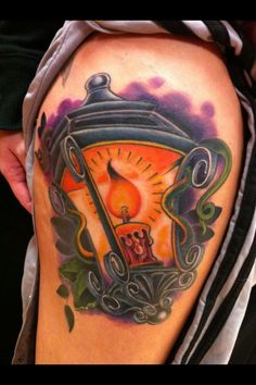 http://2014tatto.com/awesome-burning-candle-lamp-tattoo-design.html Awesome Burning Candle Lamp Tattoo Design : New Tattoo Styles