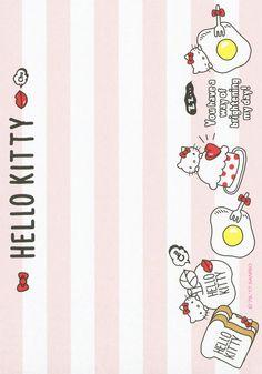 Sanrio Hello Kitty Memo w/ Stickers My Melody Sanrio, Hello Kitty My Melody, Sanrio Hello Kitty, Hello Kitty Vans, Hello Kitty Characters, Hello Kitty Themes, Memo Notepad, Printable Scrapbook Paper, Kawaii Doodles