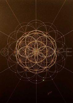 Joma Sipe Arte Simbolista e Visionária l Symbolist and Visionary Art Sacred Geometry Meanings, Sacred Geometry Patterns, Sacred Geometry Tattoo, Geometric Shapes Art, Geometric Symbols, Design Your Own Tattoo, Yoga Studio Design, Muster Tattoos, Photo Deco