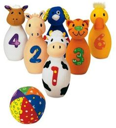 Early years Baby Farm Friends Bowling    #kids #games #toys