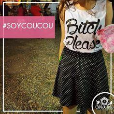 Uno de nuestros Prints favoritos..Polka Dots <3. Falda Exclusiva COUCOU. Ultima unidad. $45.000. Envíos a toda #Colombia. Para  info: Déjanos un inbox o llámanos al 3004172602 (Whatsapp) #coucouisrosy #coucourya #cali #soycoucou #chicacoucou #chicascoucou #instamoda #skirt #bucaramanga #barranquilla #bogota #manizales #medellin