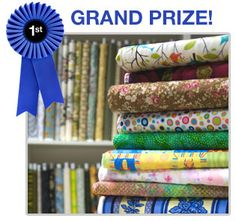 Win fabric for life sweepstakes