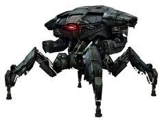 Terminator Genisys Merchandize: Collectors Hot Over Endoskeleton and Robot Spider Action Figures Rpg Star Wars, Star Wars Droids, Arte Robot, Robot Art, Robot Concept Art, Weapon Concept Art, Skynet Terminator, Killzone Shadow Fall, Films Cinema