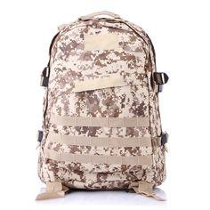 2017 High Quality Large Capacity Travel Military Backpack Men Multifunctional Backpack 3D Rucksack Bag