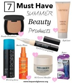 What are you best beauty tips for summer!?  Find out some beauty tips and secrets www.themakeupblogger.com